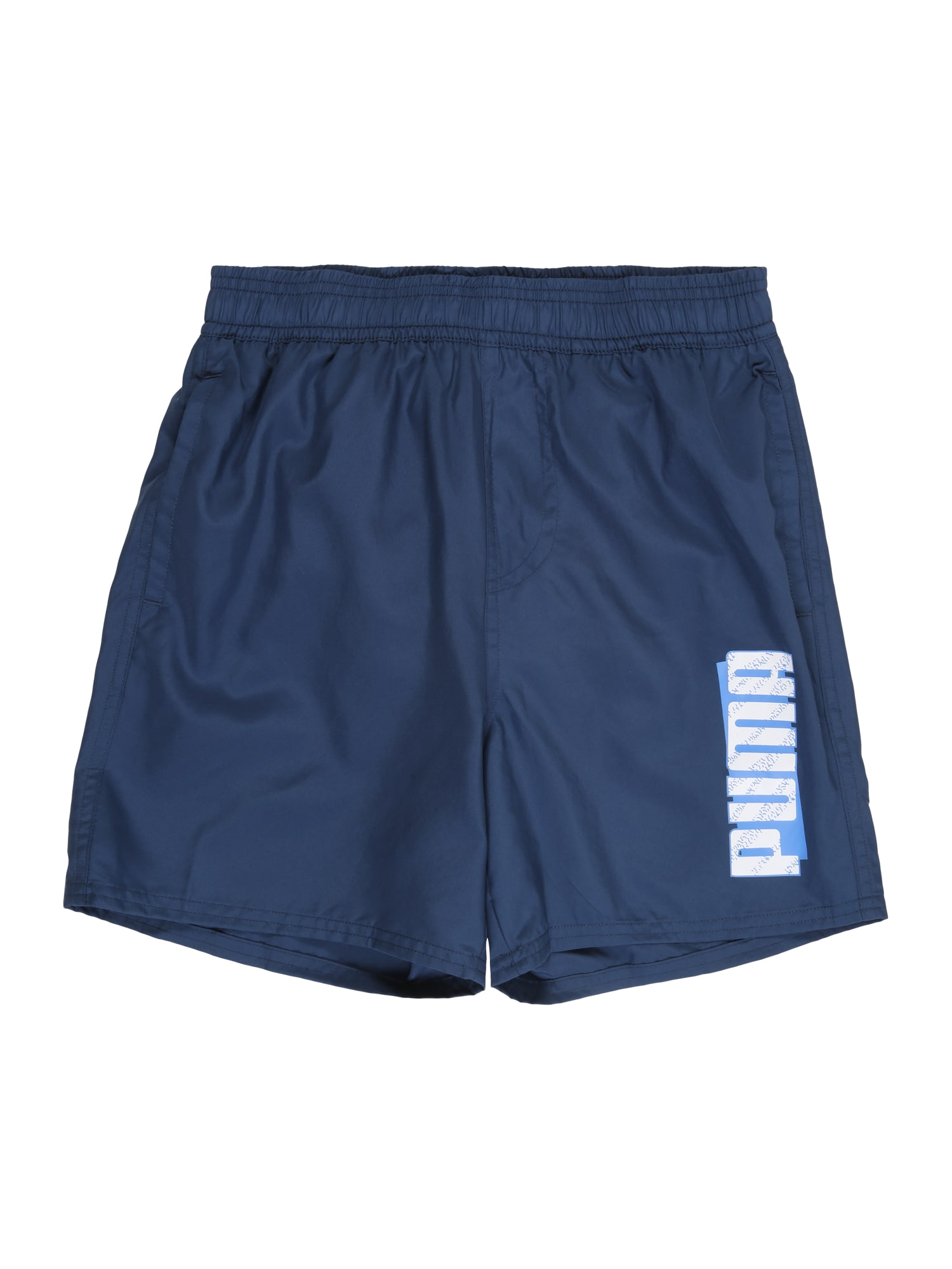 PUMA Športové nohavice 'ESS+ Summer'  modrá denim