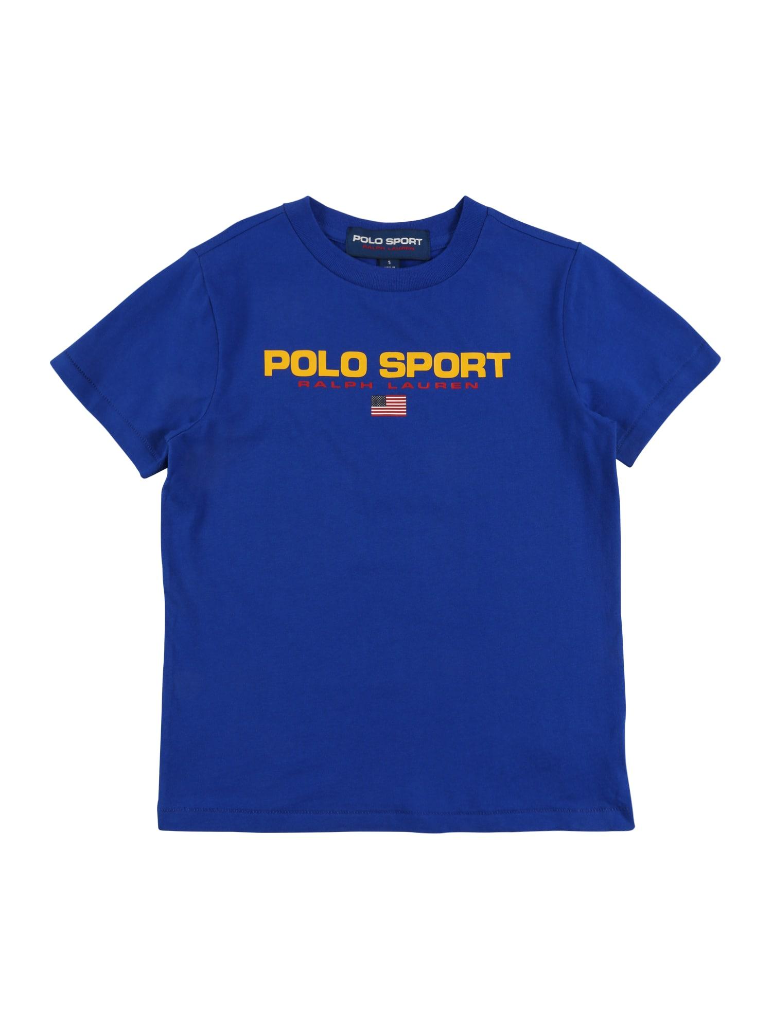 POLO RALPH LAUREN Marškinėliai safyro