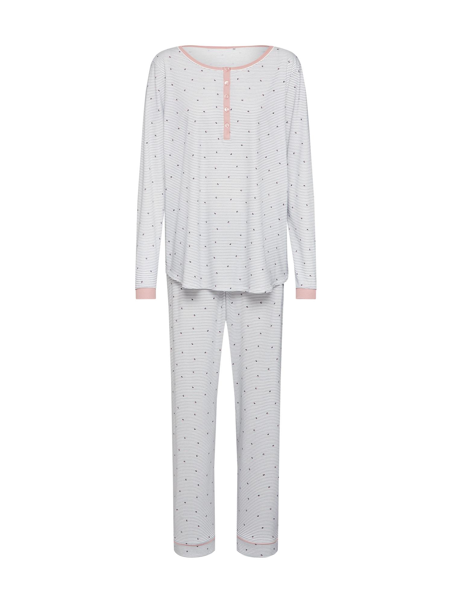 CALIDA Pižama balta