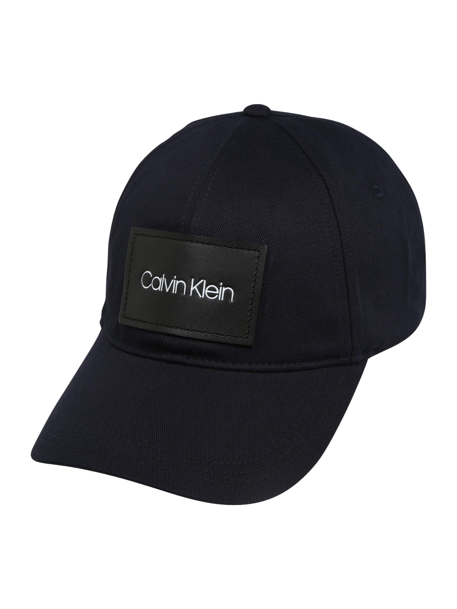 Calvin Klein Kepurė 'PATCH BB' tamsiai mėlyna