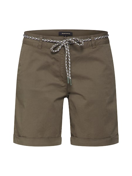 Hosen - Shorts 'CO Twill' › MORE MORE › grün  - Onlineshop ABOUT YOU