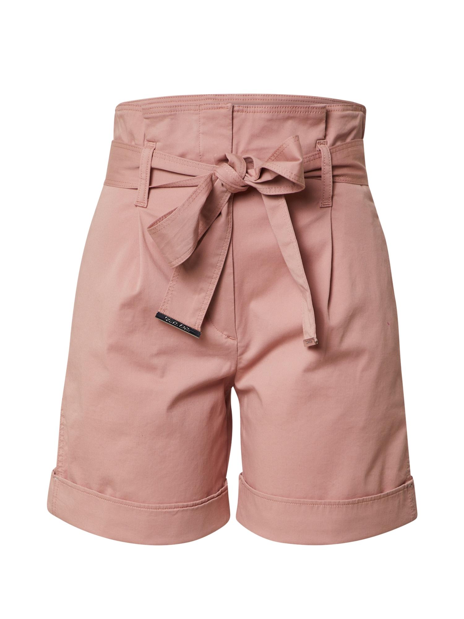 Calvin Klein Kelnės rožinė