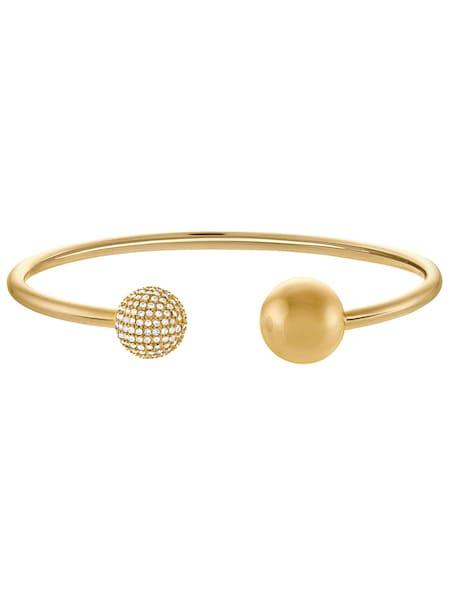 Armbaender für Frauen - JETTE Armreif 'Glamorous Ball' gold  - Onlineshop ABOUT YOU