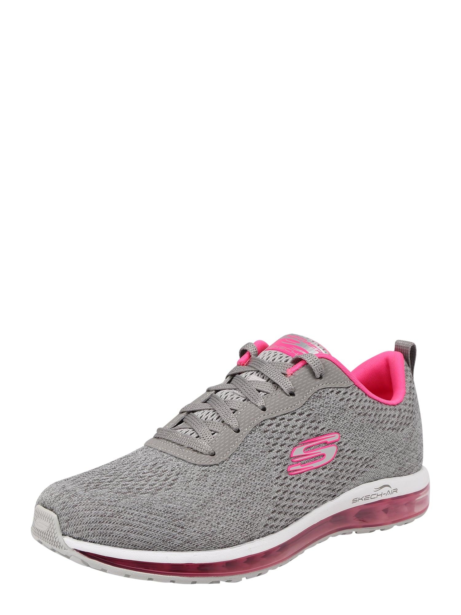 Tenisky SKECH-AIR ELEMENT šedá pink SKECHERS