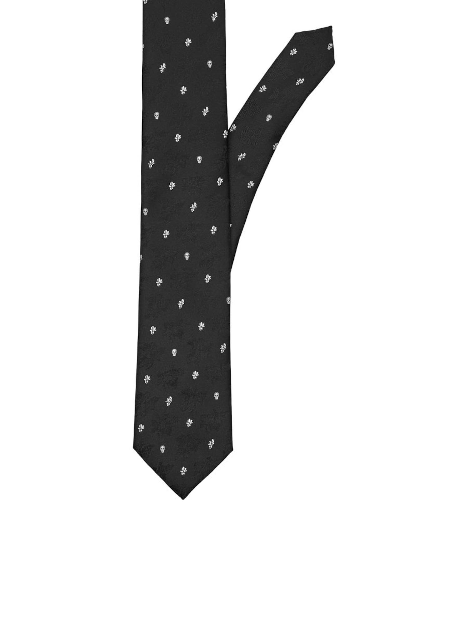 Herren jack & jones Krawatte rot,  schwarz,  weiß, schwarz,  weiß   05713776232401