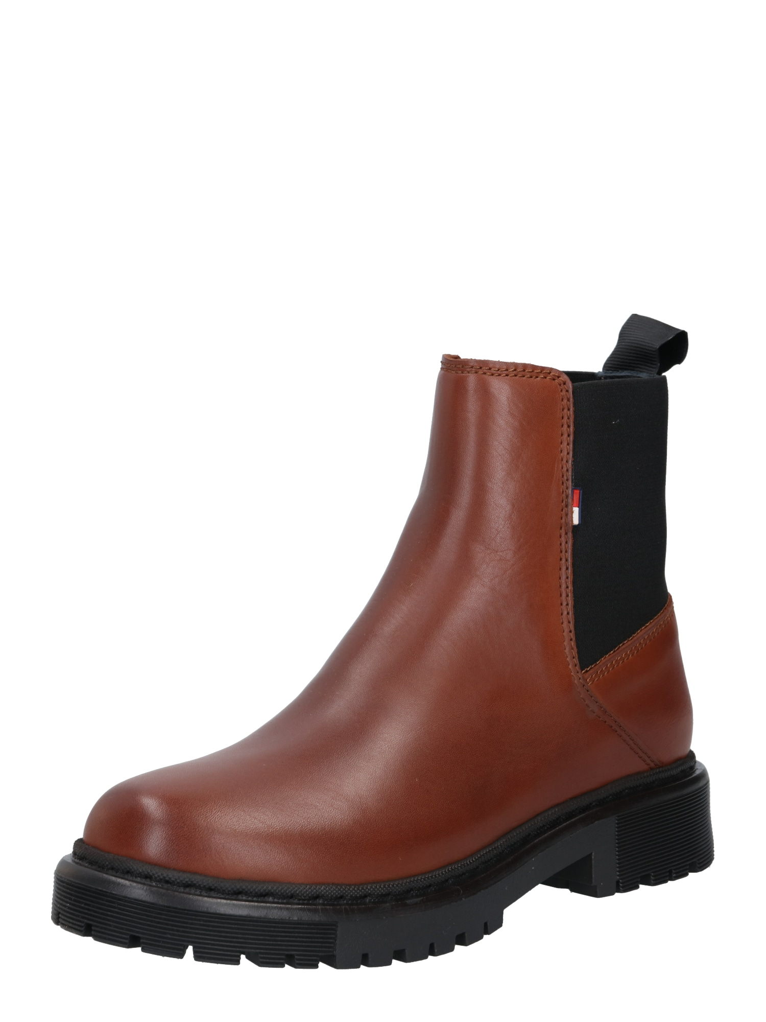 Tommy Jeans Chelsea batai ruda (konjako)