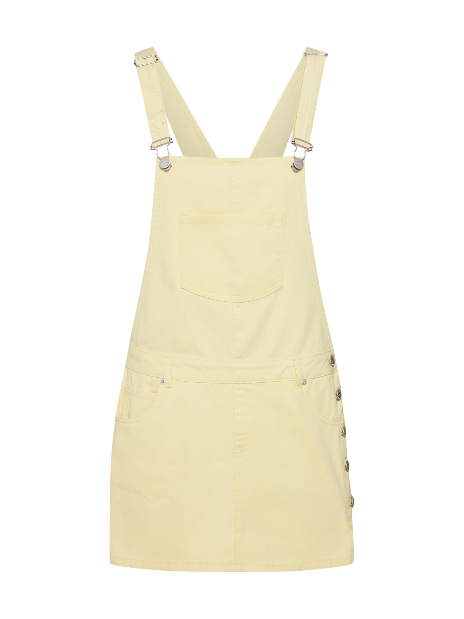 Laclová sukně NOORA světle žlutá ONLY