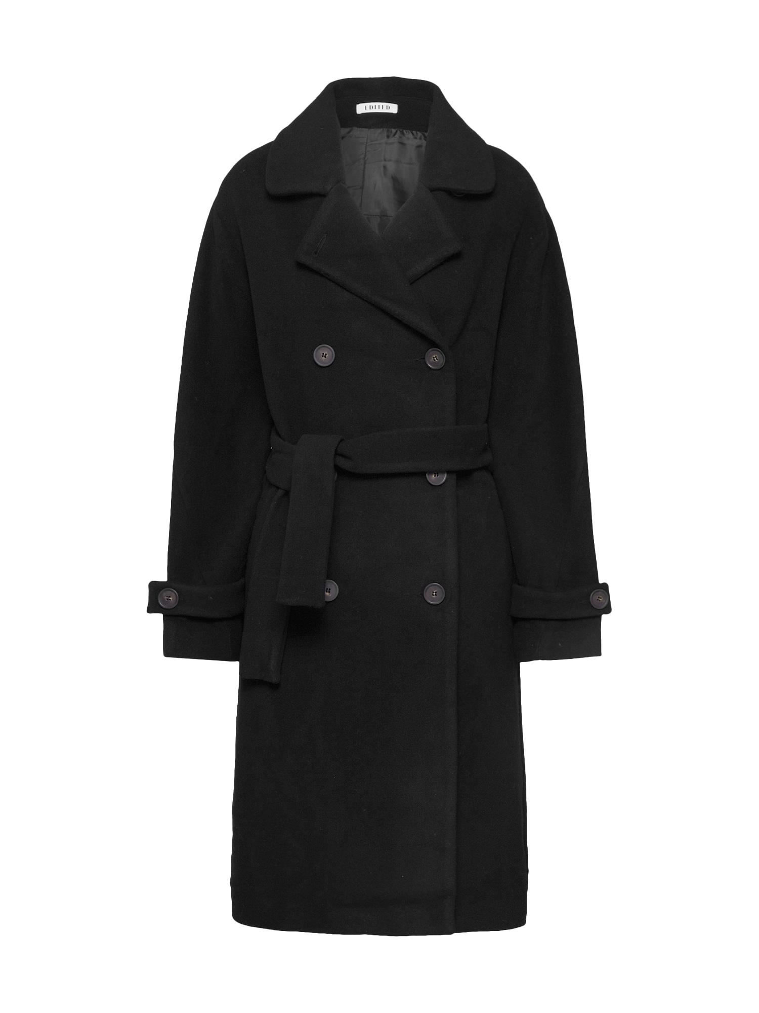EDITED Rudeninis-žieminis paltas 'Jolan' juoda