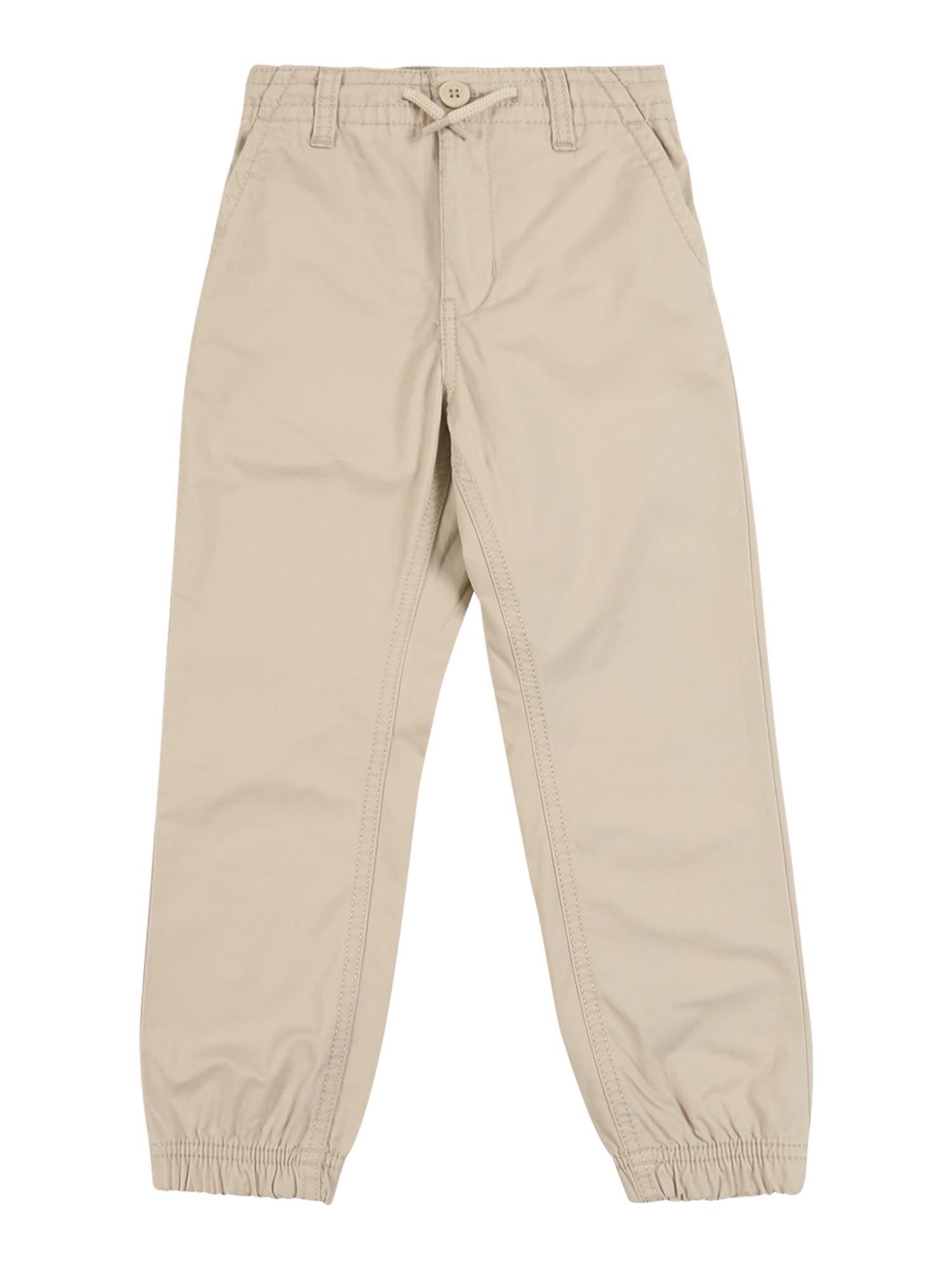 OshKosh Kelnės 'Poplin Jogger Khaki Dream' šviesiai ruda