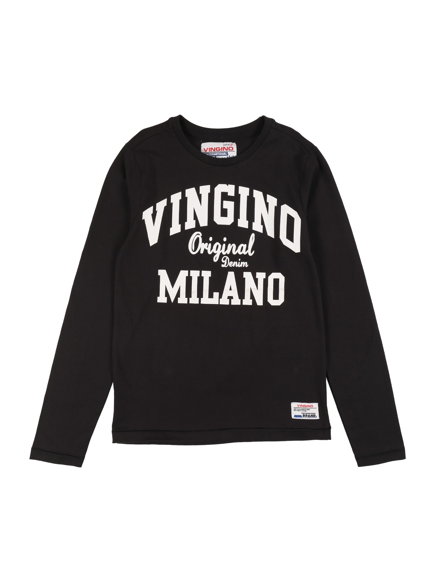 VINGINO Tričko 'Jerny'  černá