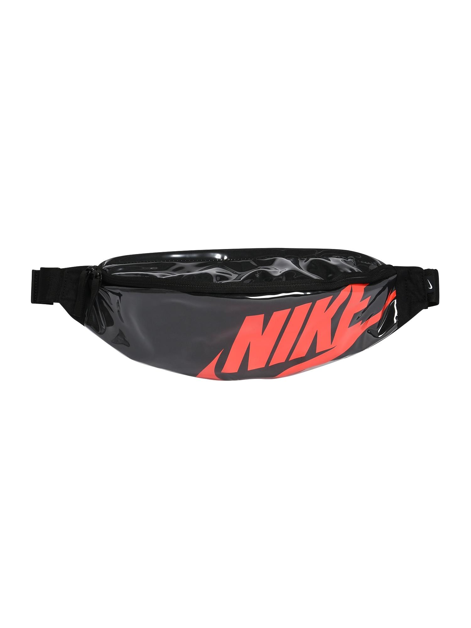 Nike Sportswear Ľadvinka  čierna / červené