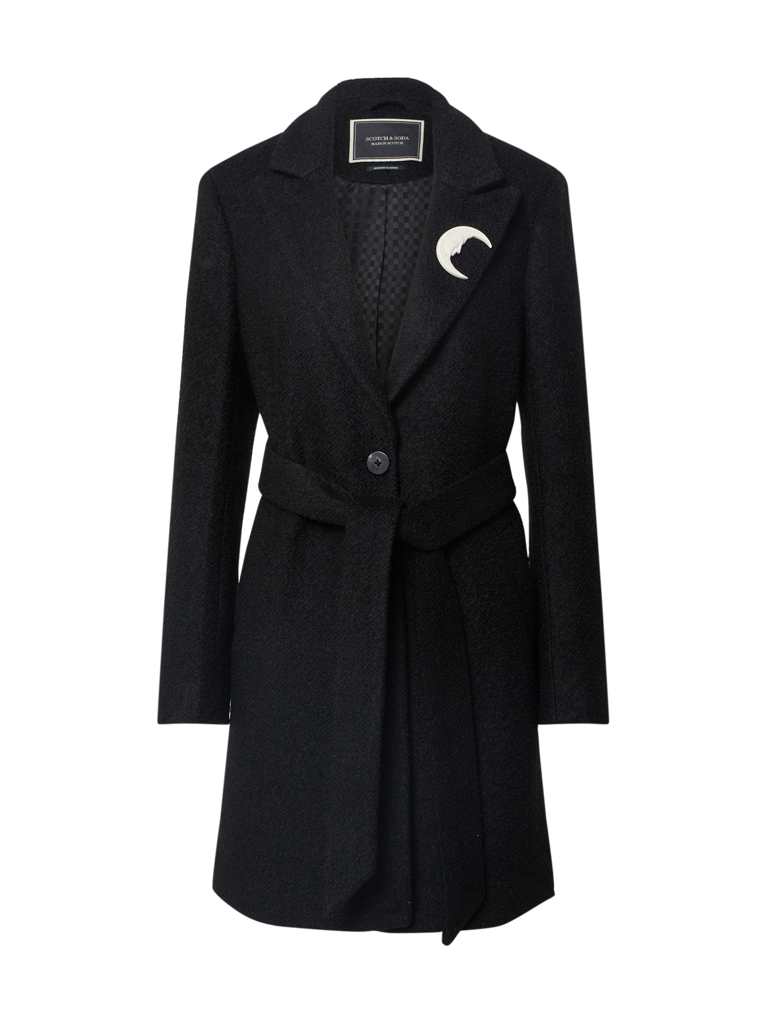 SCOTCH & SODA Demisezoninis paltas juoda