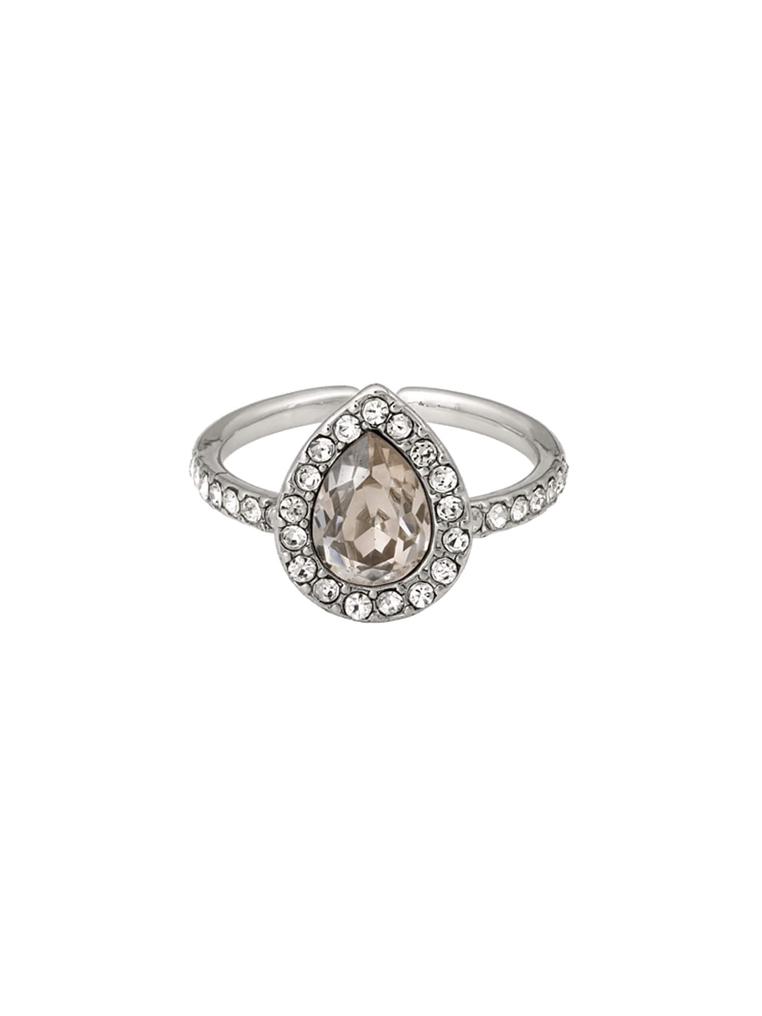 Prsten Amy krémová stříbrná LILY AND ROSE