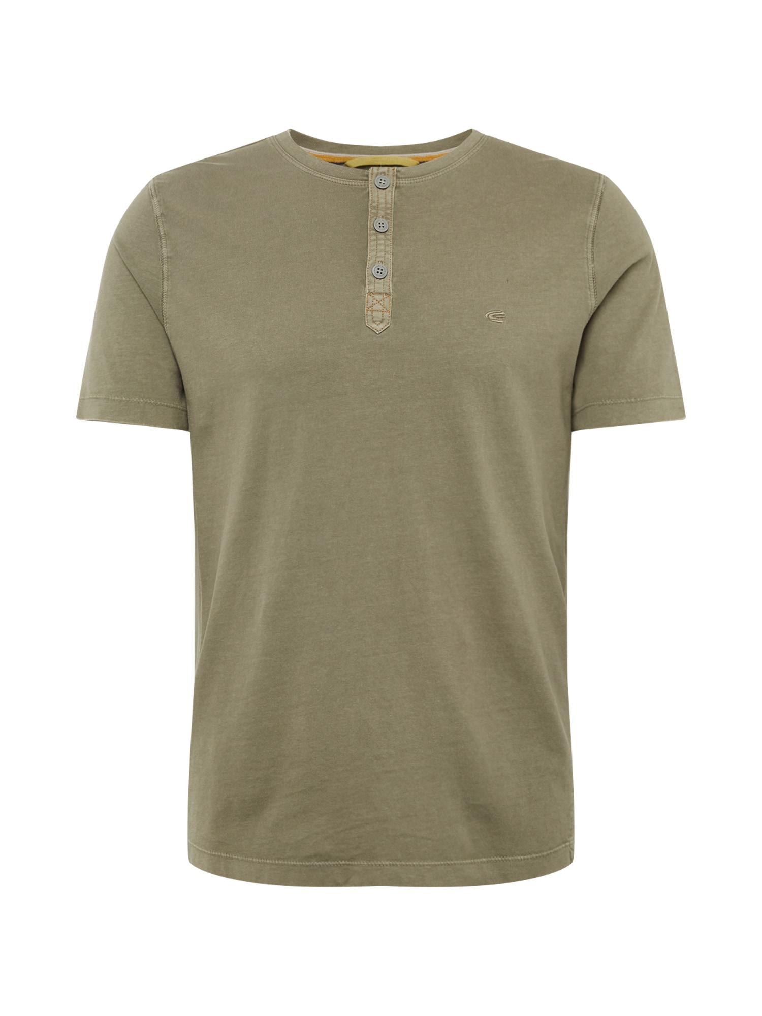 Tričko khaki CAMEL ACTIVE