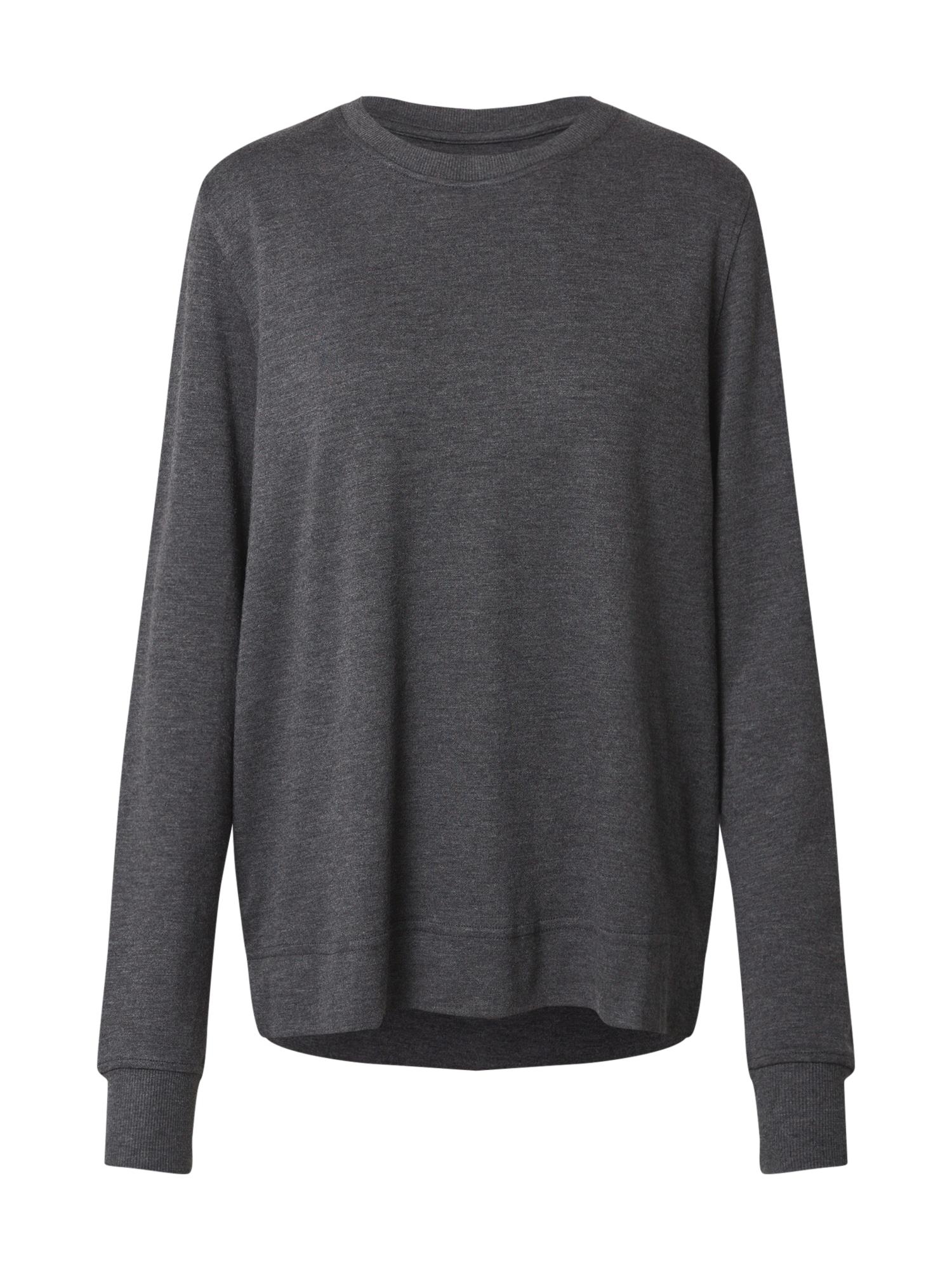 JBS OF DENMARK Pižaminiai marškinėliai tamsiai pilka