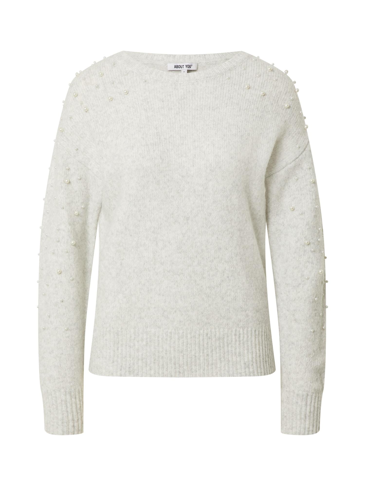 ABOUT YOU Megztinis 'Lusan' margai pilka