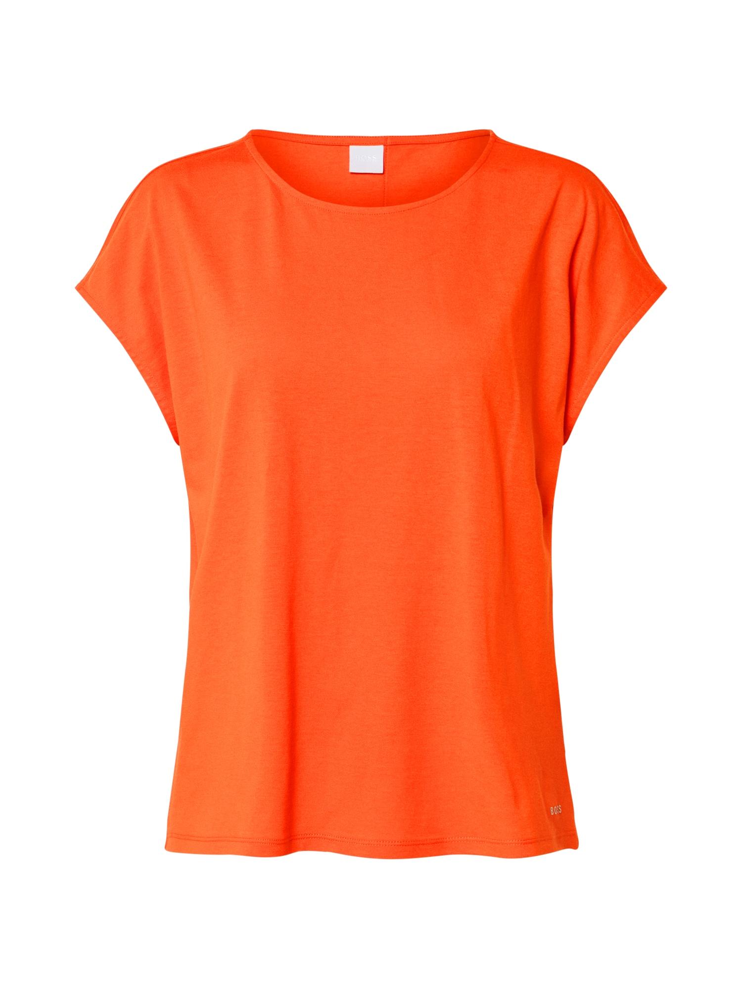 BOSS Marškinėliai 'Tesarah' oranžinė
