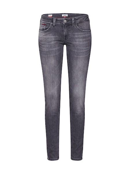 Hosen - Jeans 'Sophie Low Rise Skinny' › Tommy Jeans › grau  - Onlineshop ABOUT YOU