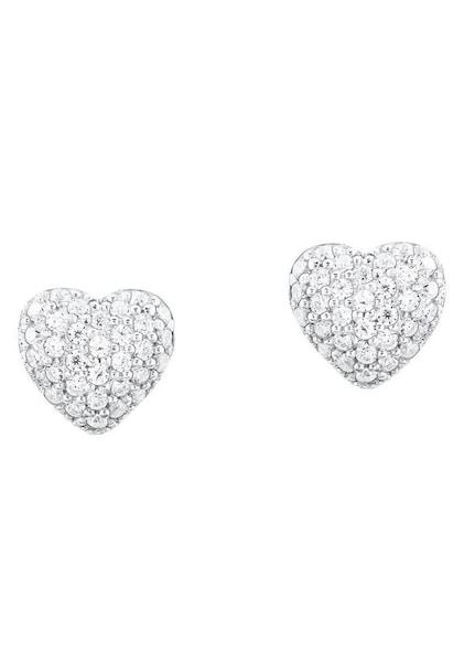 Ohrringe für Frauen - S.Oliver RED LABEL Ohrstecker 'Herz, 2024211' silber  - Onlineshop ABOUT YOU