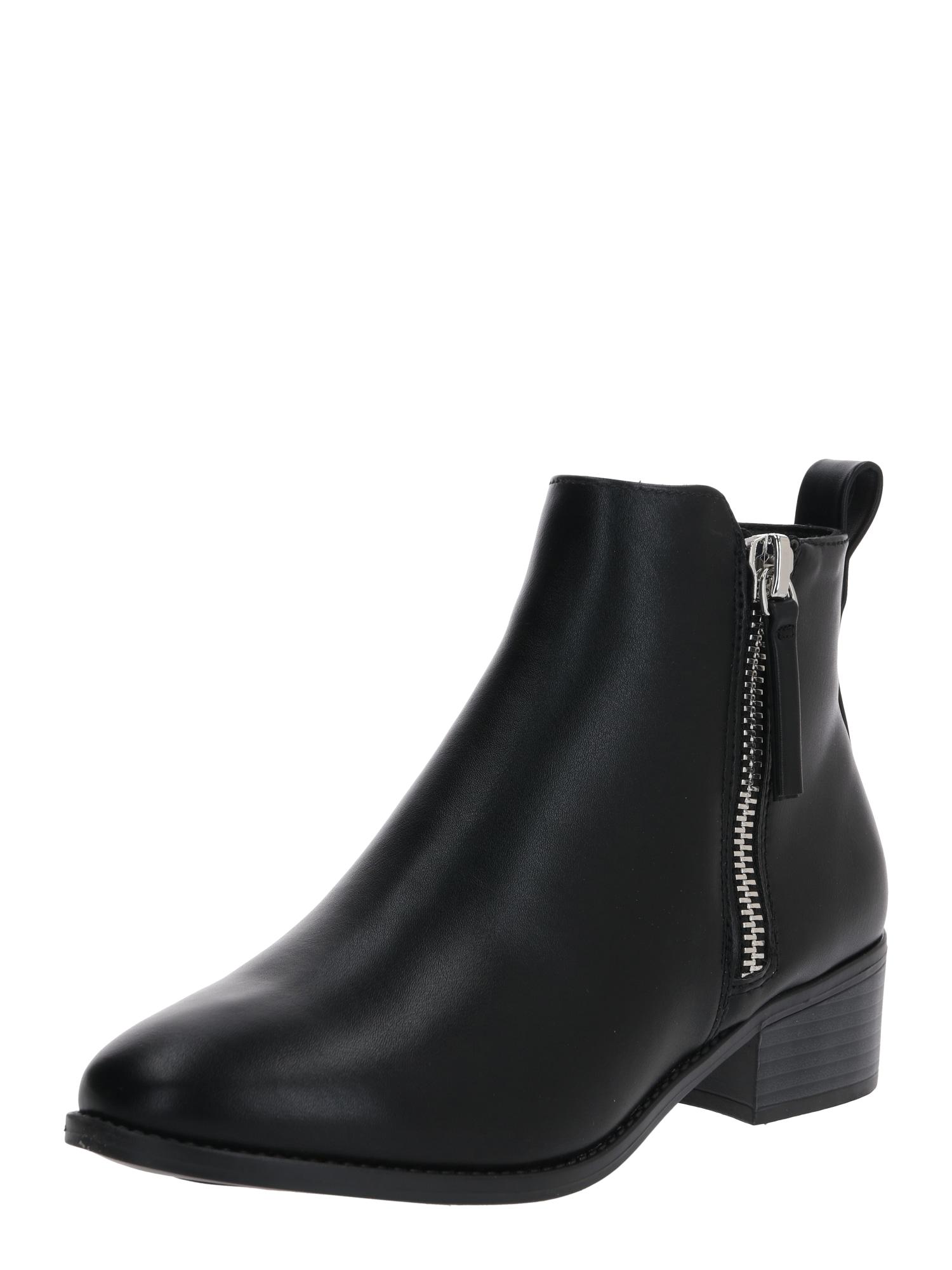 Dorothy Perkins Kotníkové boty 'MAREN JODPHUR BOOT'  černá