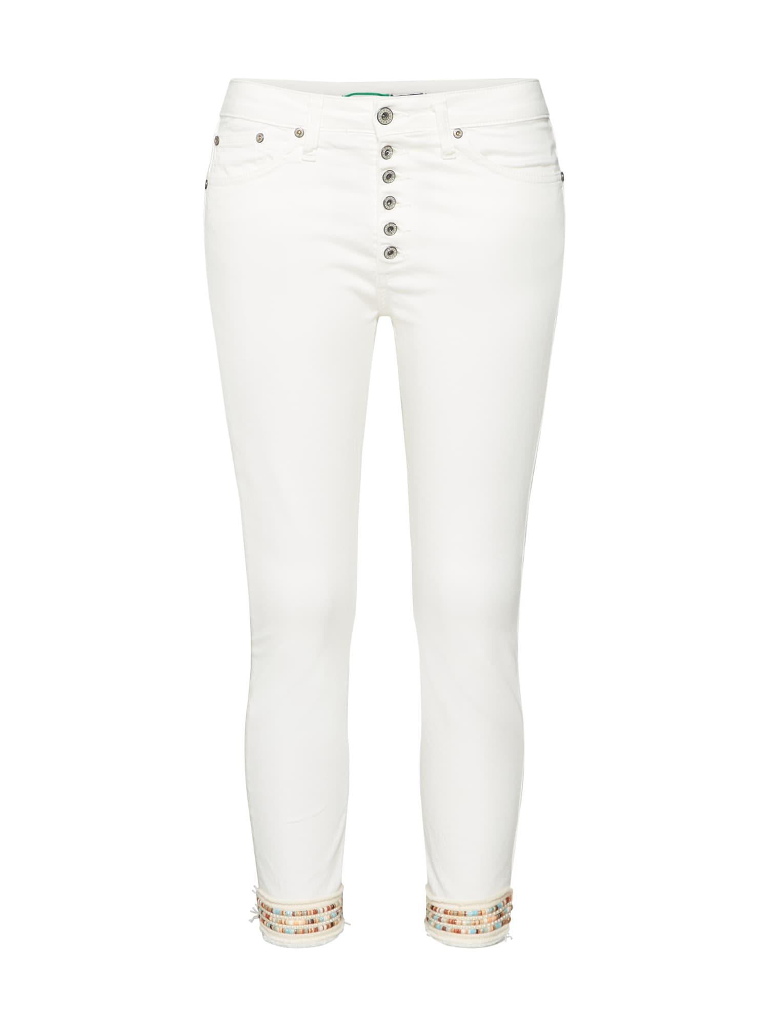 Kalhoty bílá PLEASE