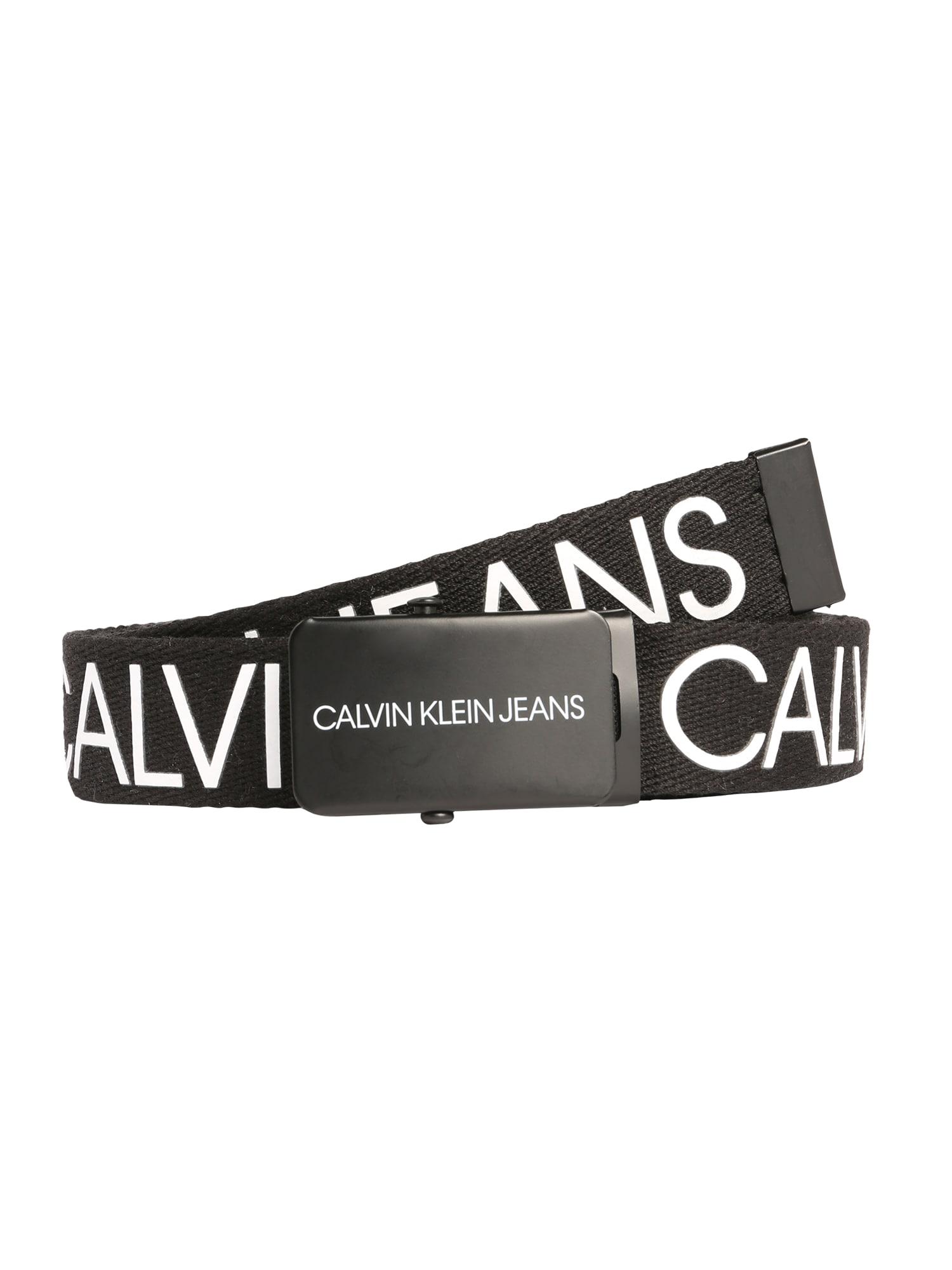 Calvin Klein Jeans Diržas juoda