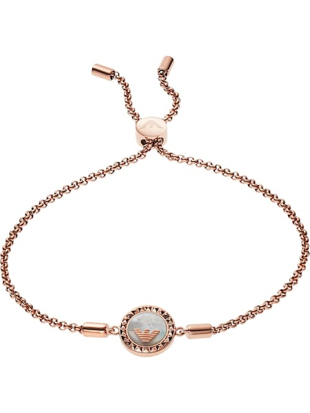 Armbaender für Frauen - Emporio Armani Armband 'EGS2568221' rosegold  - Onlineshop ABOUT YOU