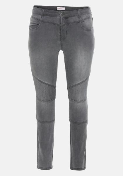 Hosen - Jeans › SHEEGO › grey denim  - Onlineshop ABOUT YOU