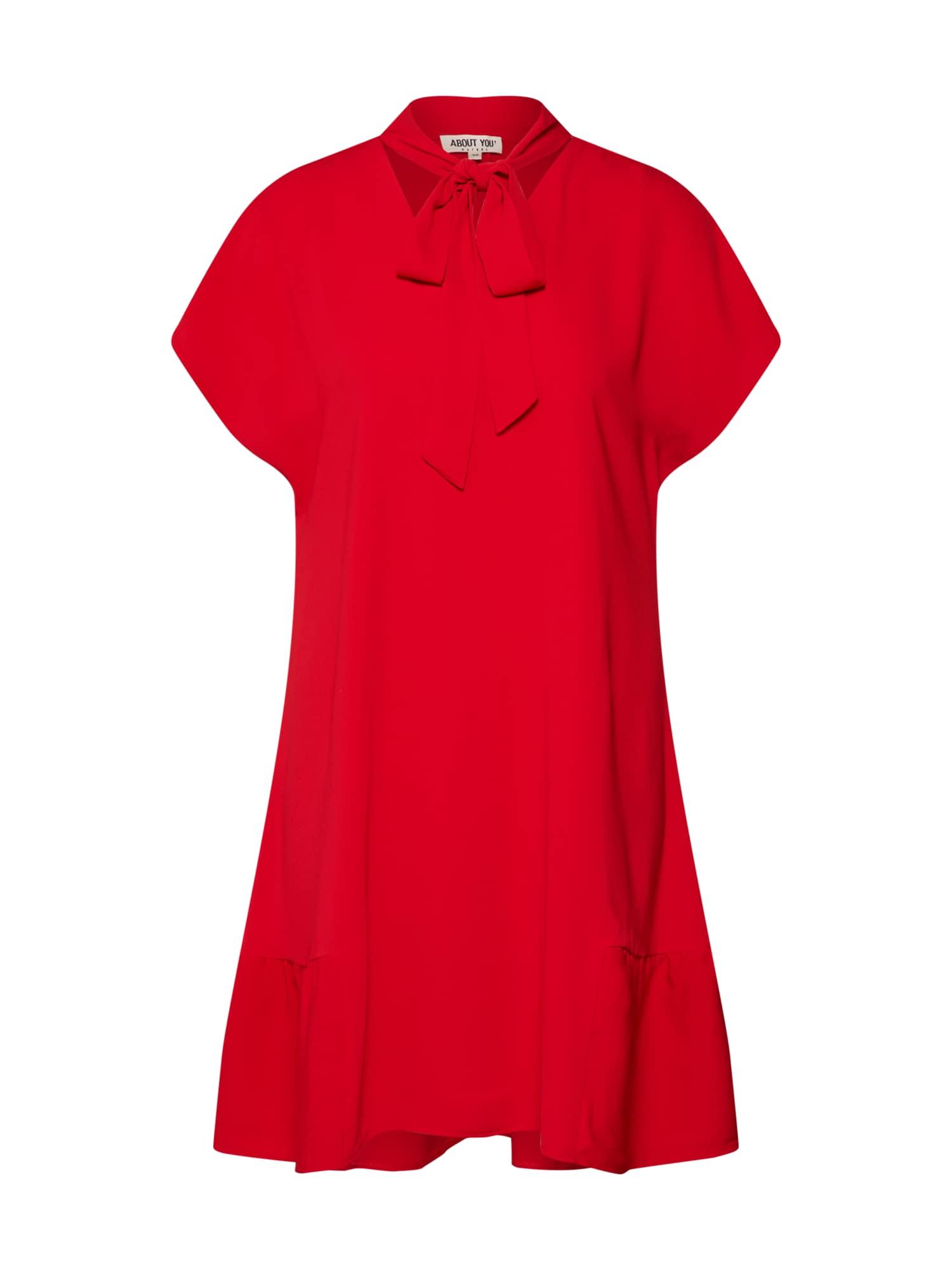 ABOUT YOU Palaidinės tipo suknelė 'Ilse' raudona