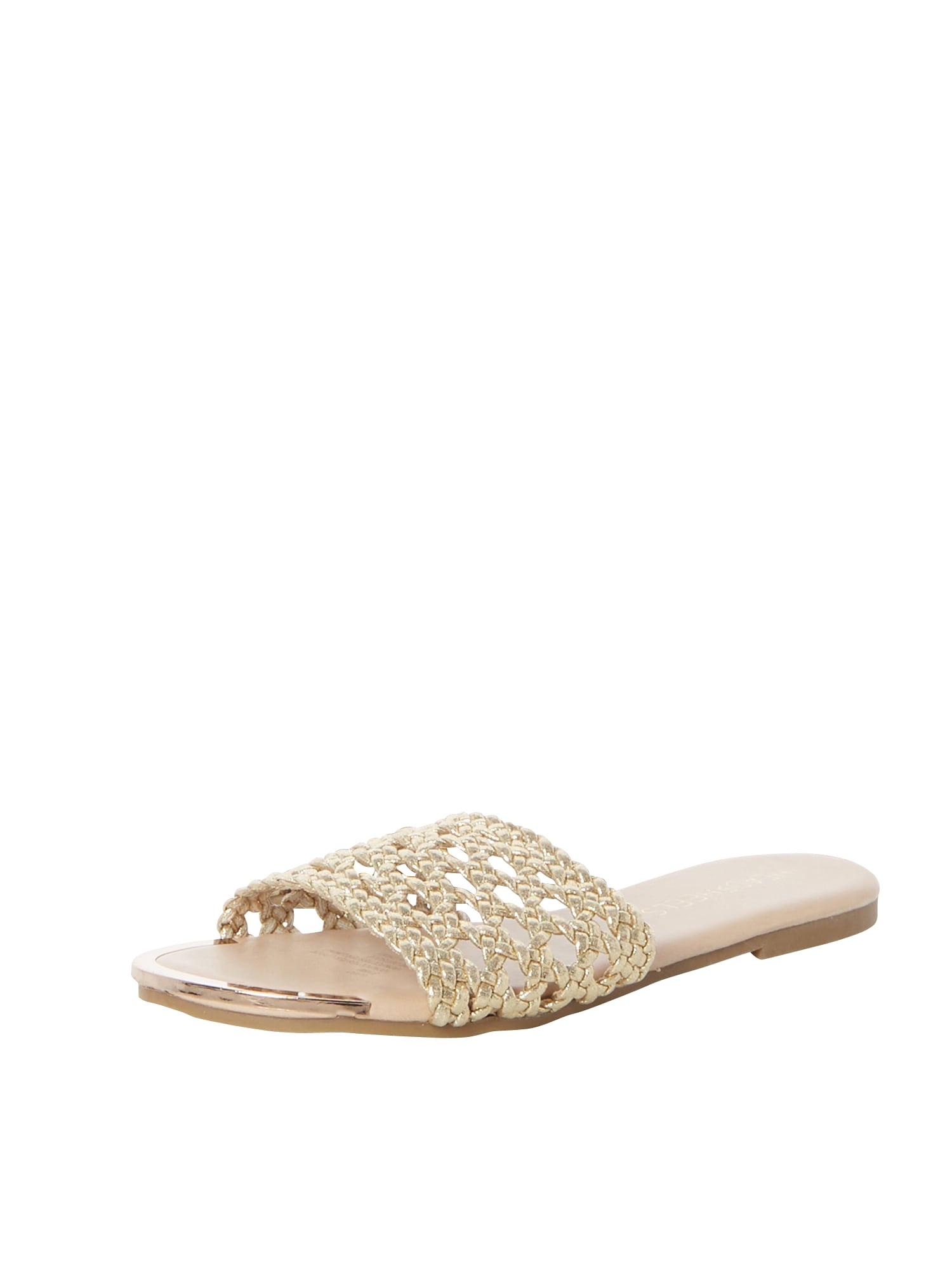 Pantofle Leeo zlatá Head Over Heels