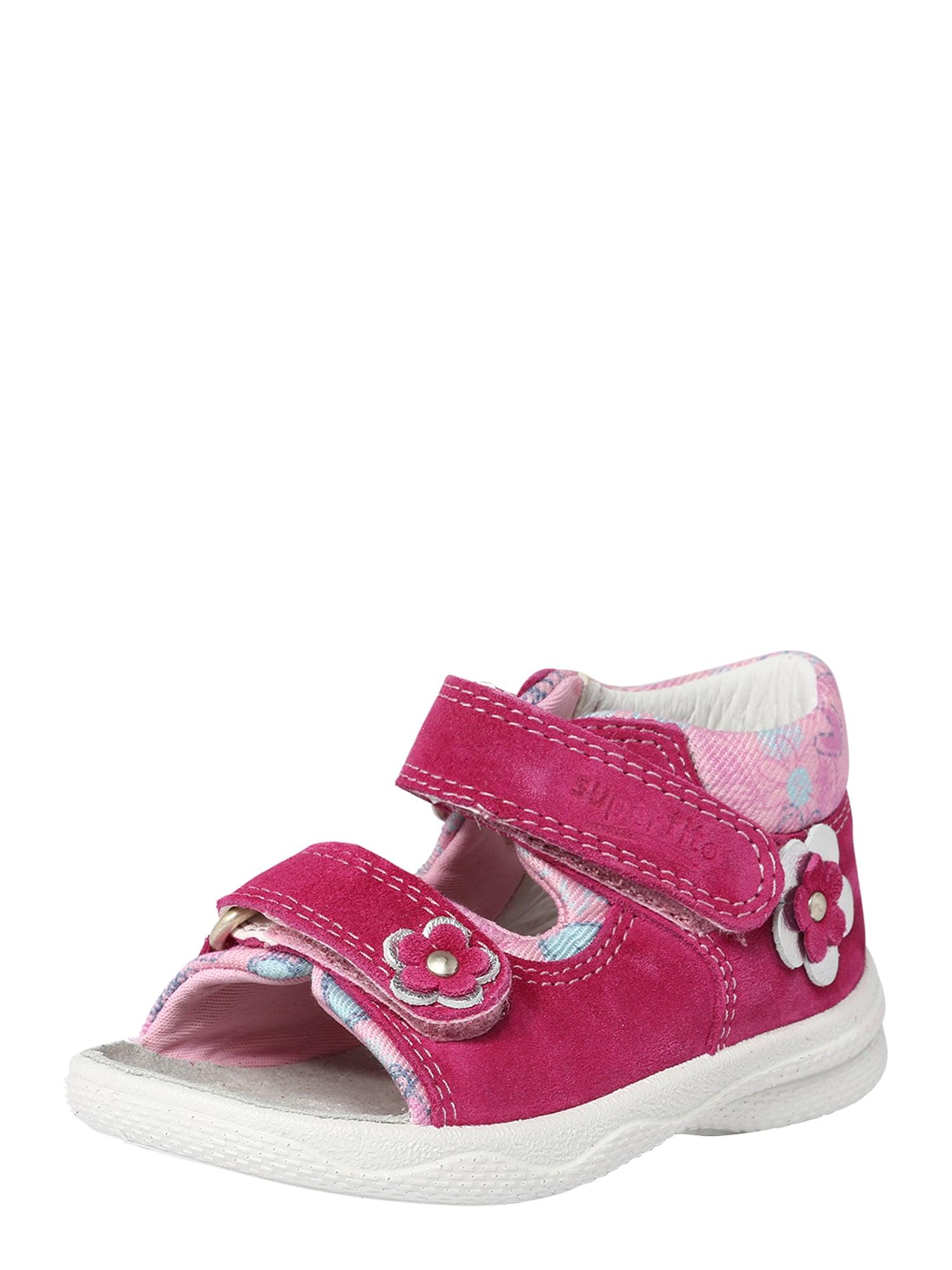 Sandály Polly pink růžová SUPERFIT