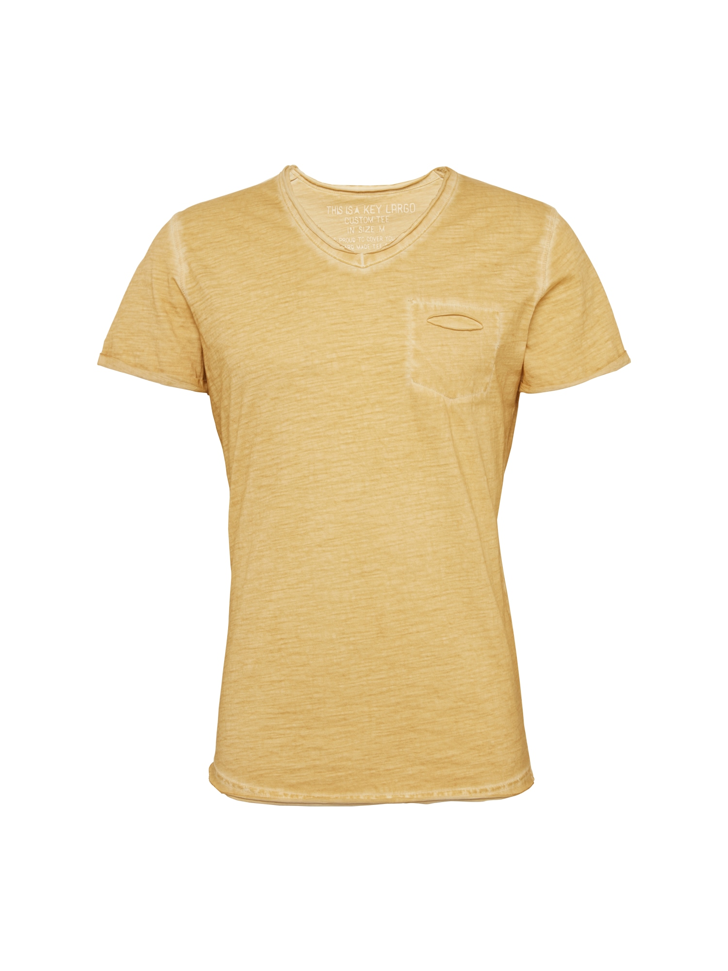 Tričko Soda žlutá Key Largo