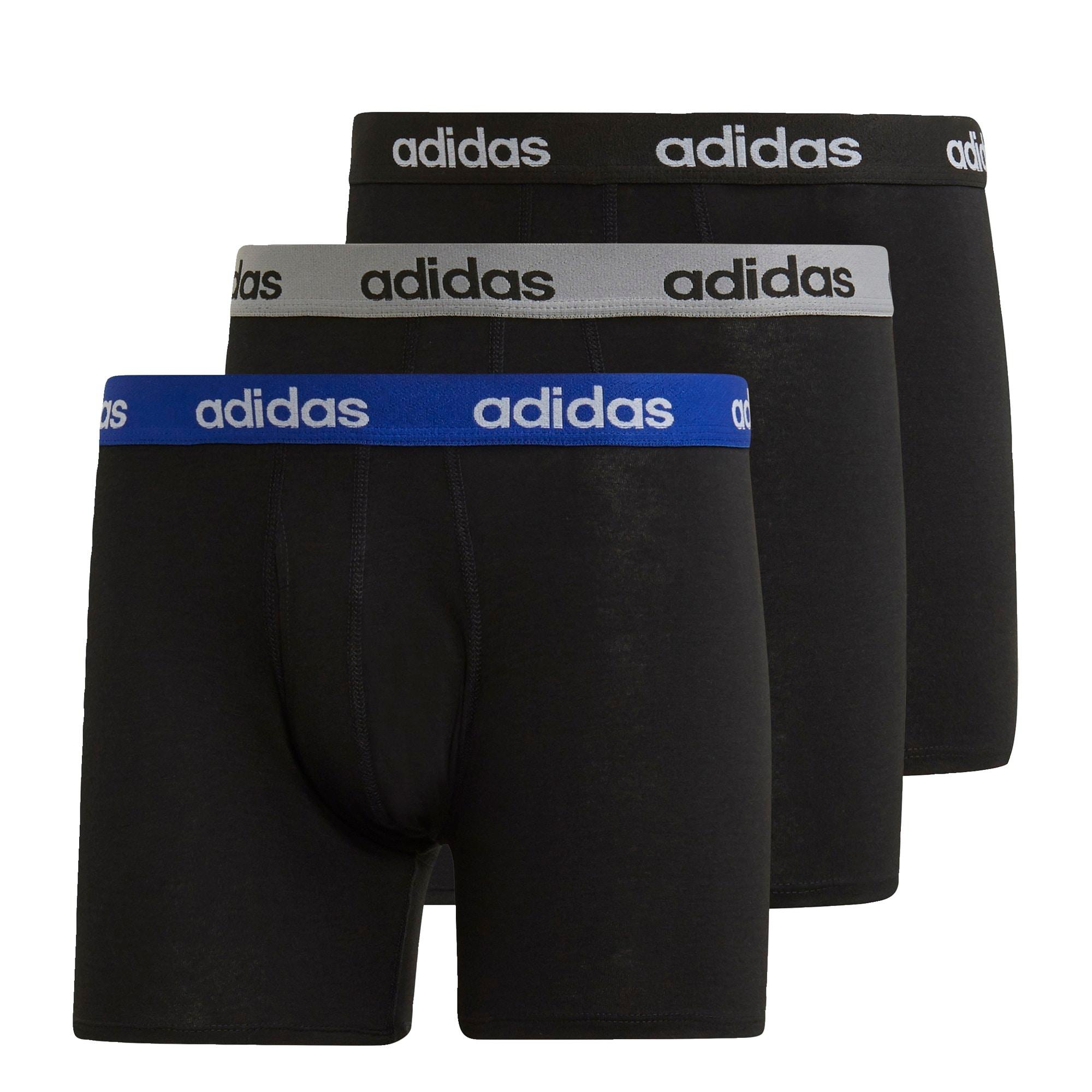 ADIDAS PERFORMANCE Sportinės trumpikės juoda / mėlyna / pilka