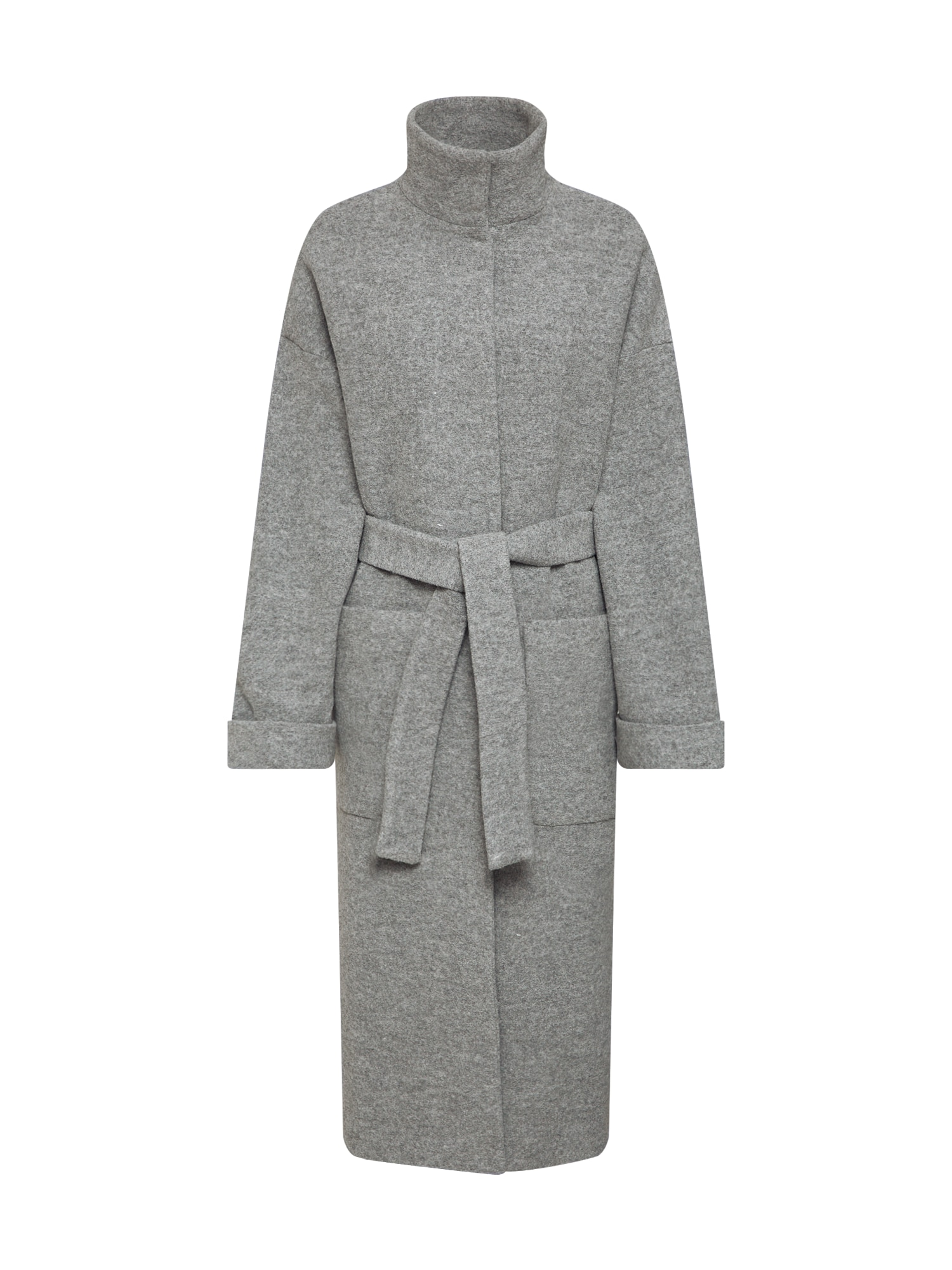 EDITED Rudeninis-žieminis paltas 'Yona' pilka / margai pilka