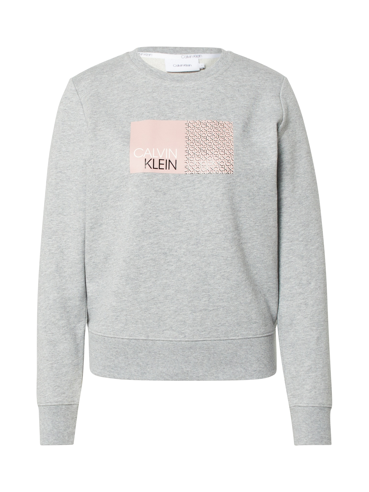 Calvin Klein Megztinis be užsegimo 'SHADOW' pilka