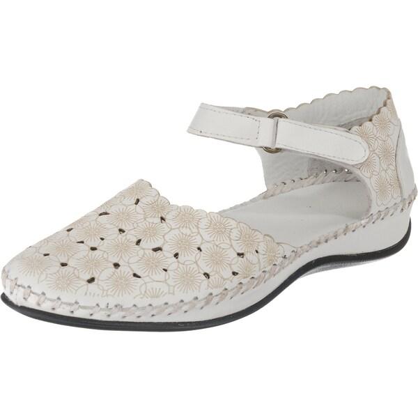 Sandalen für Frauen - Riemchensandalen › ANDREA CONTI › beige weiß  - Onlineshop ABOUT YOU
