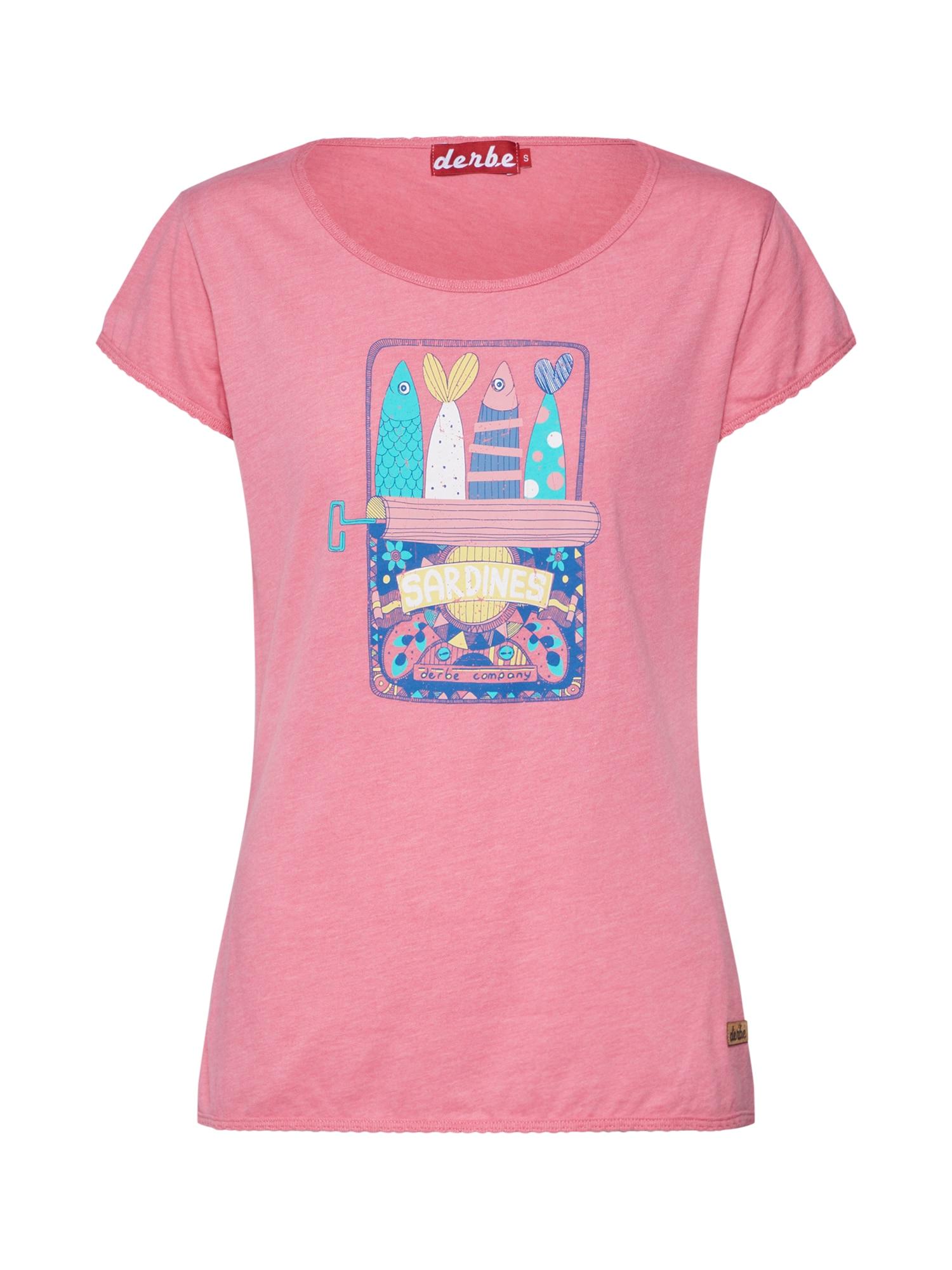 Tričko Sardines pink růžová Derbe
