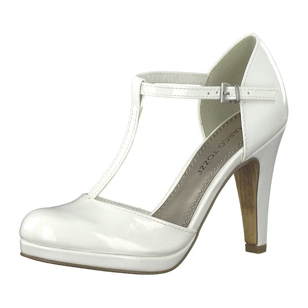 Highheels - T Steg Pumps › marco tozzi › weiß  - Onlineshop ABOUT YOU