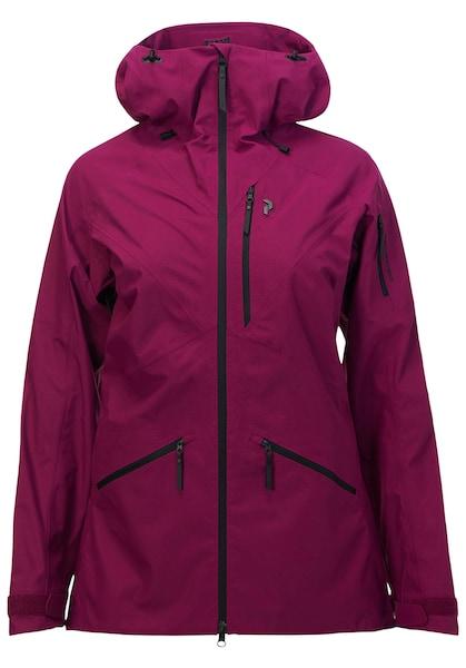 Jacken für Frauen - PEAK PERFORMANCE Skijacke 'Radical' beere  - Onlineshop ABOUT YOU