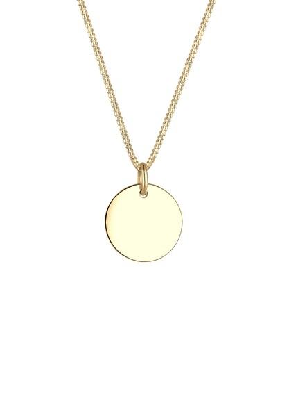 Ketten für Frauen - ELLI PREMIUM Halskette 'Geo, Kreis' gold  - Onlineshop ABOUT YOU