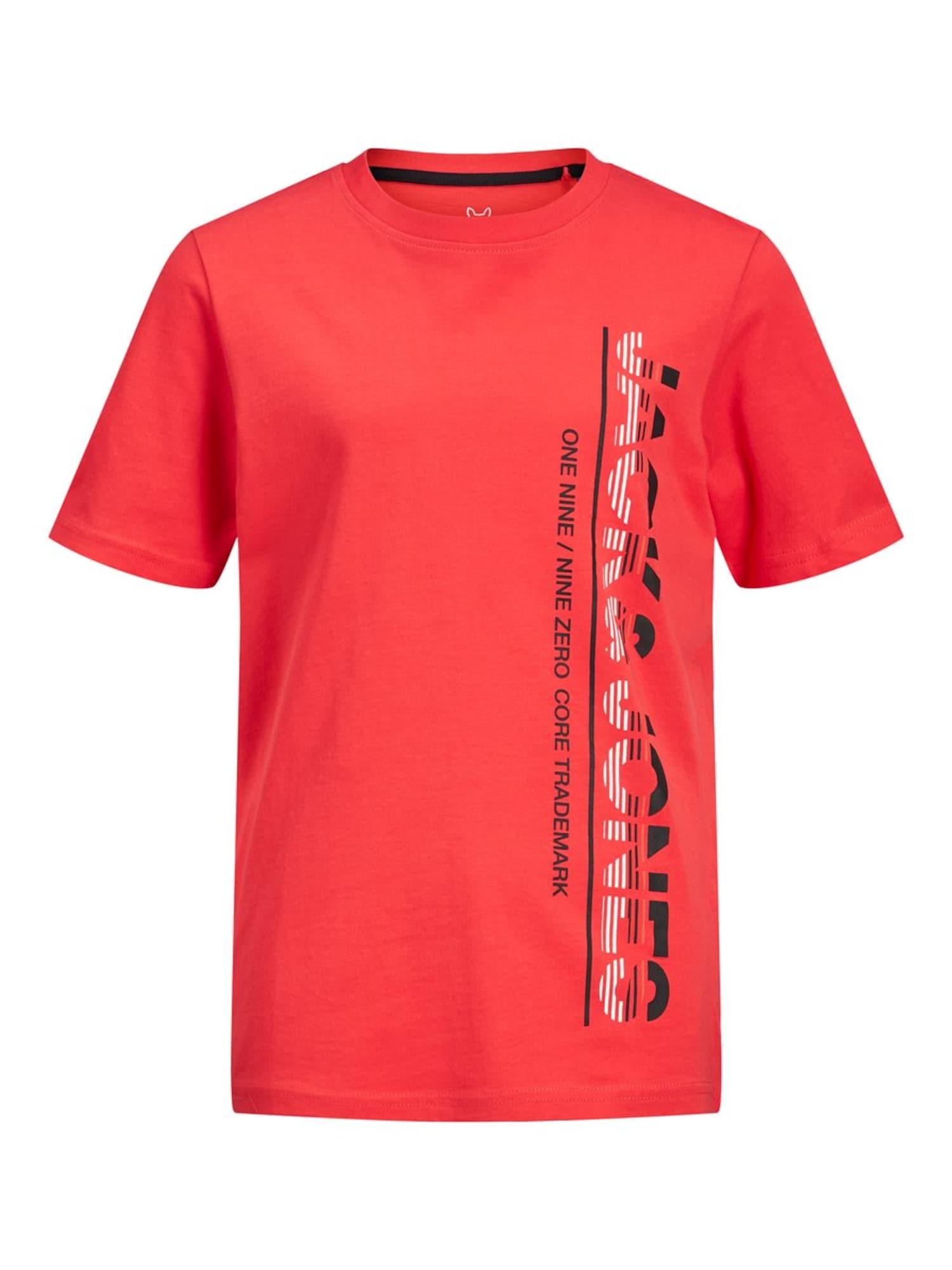 Jack & Jones Junior Marškinėliai šviesiai raudona
