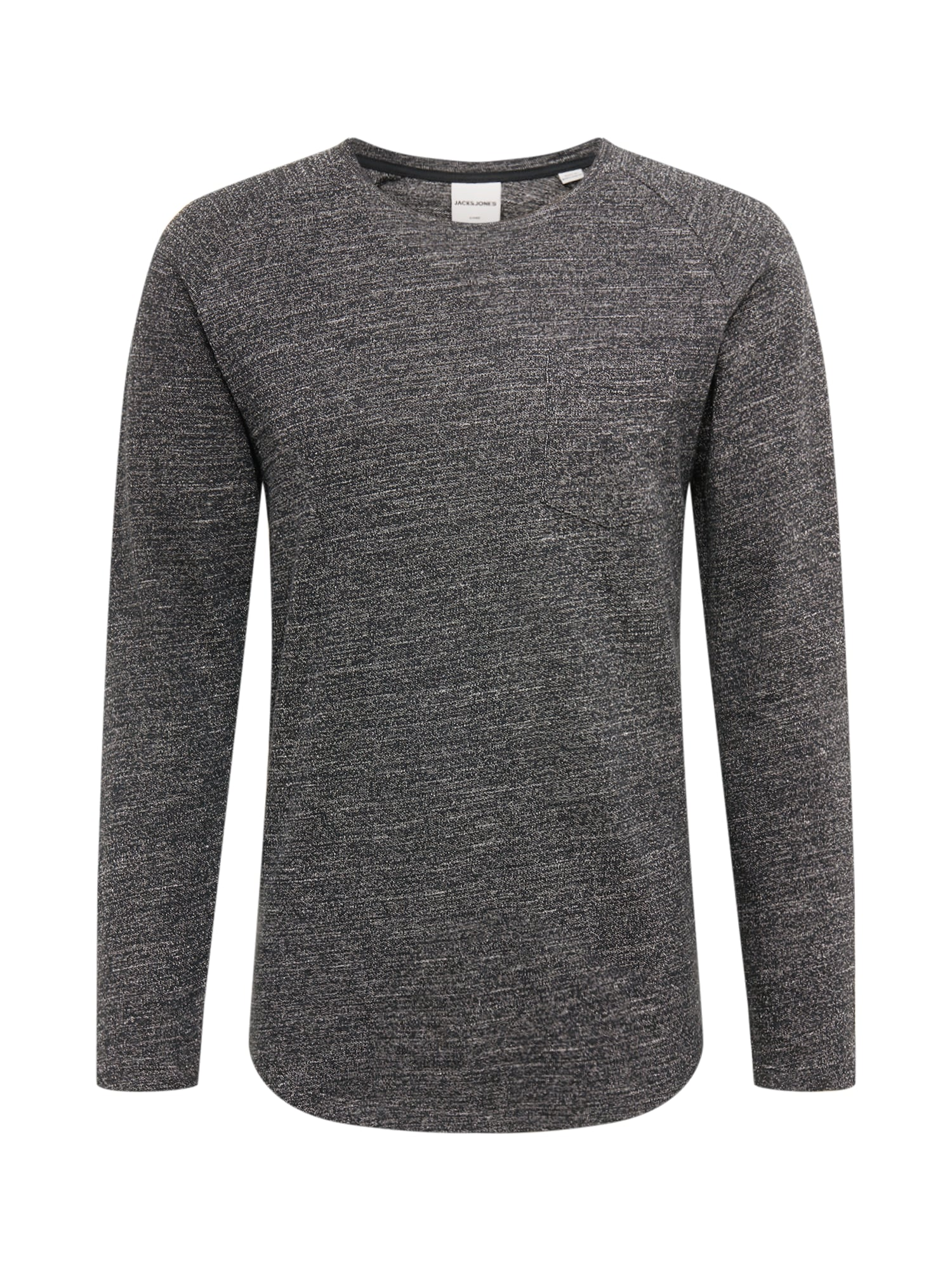 JACK & JONES Marškinėliai margai juoda
