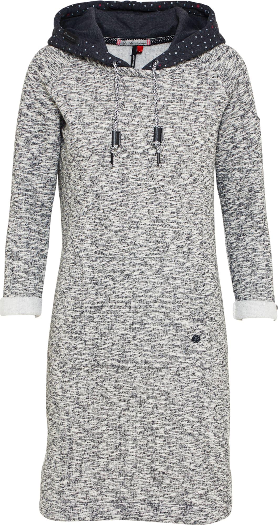 Ragwear Hoodie-Kleid 'BESS' in schwarz | ABOUT YOU