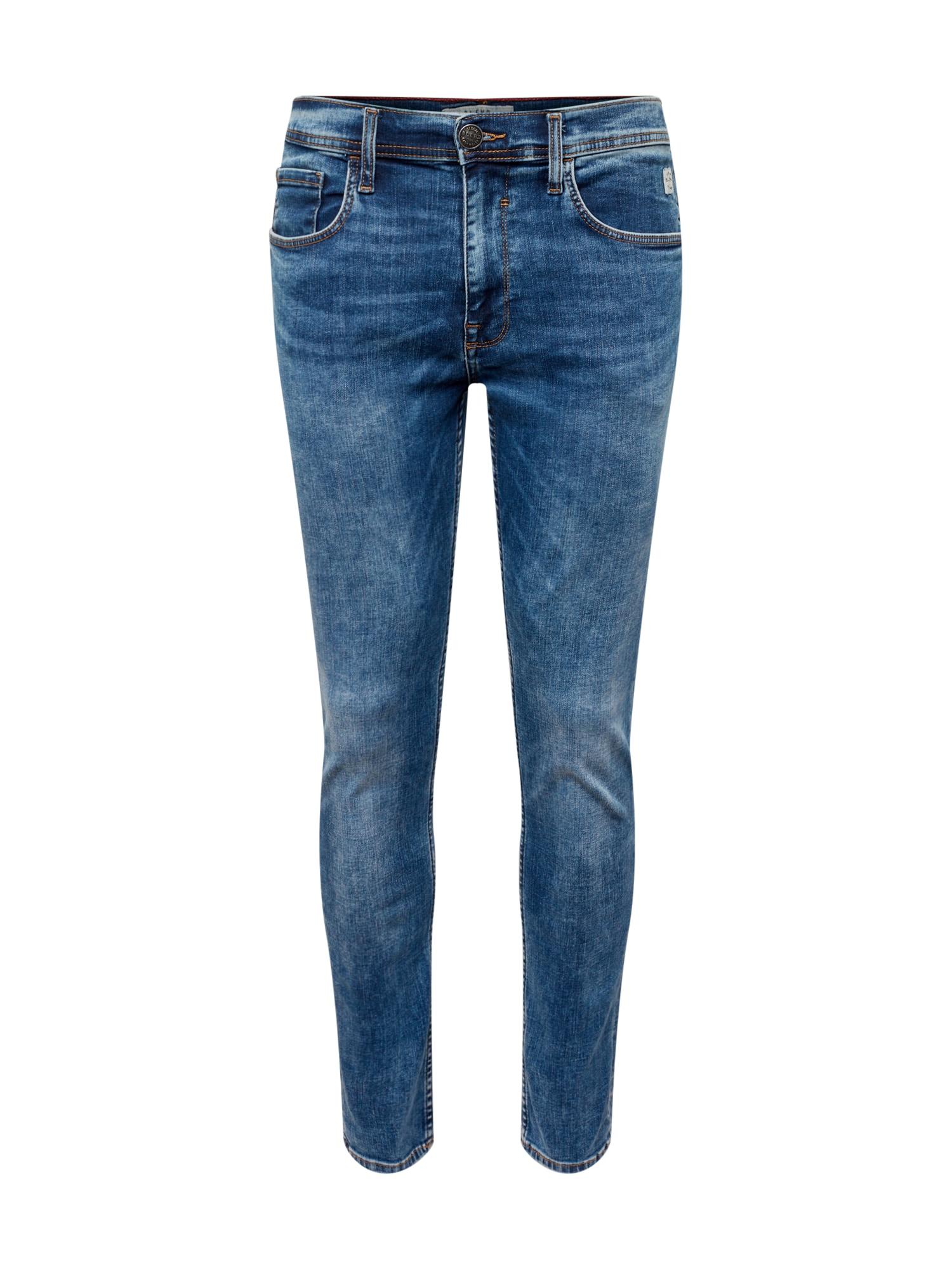 BLEND Džinsai 'Jet Slim Taperd Multiflex' tamsiai (džinso) mėlyna