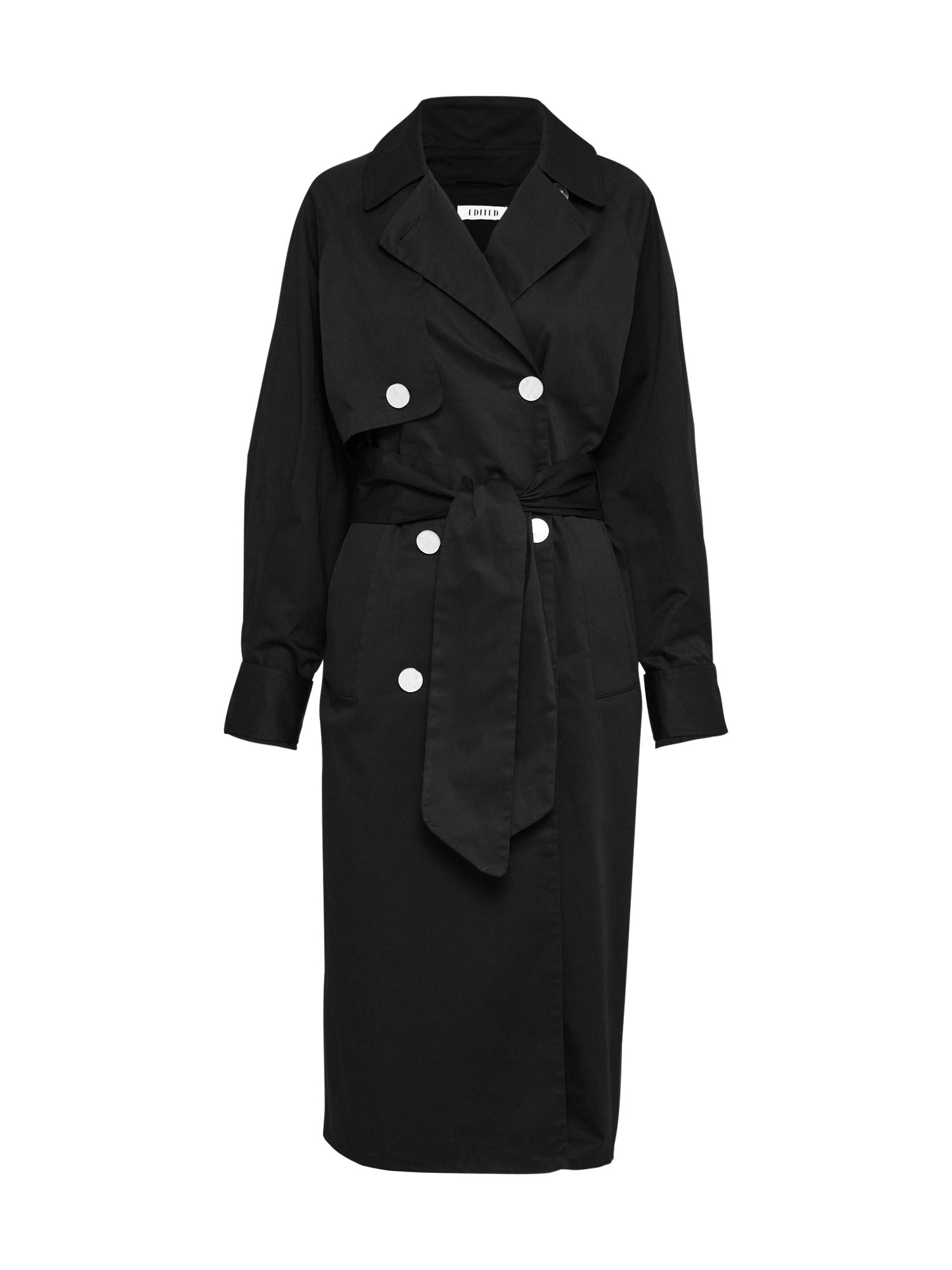 EDITED Rudeninis-žieminis paltas juoda