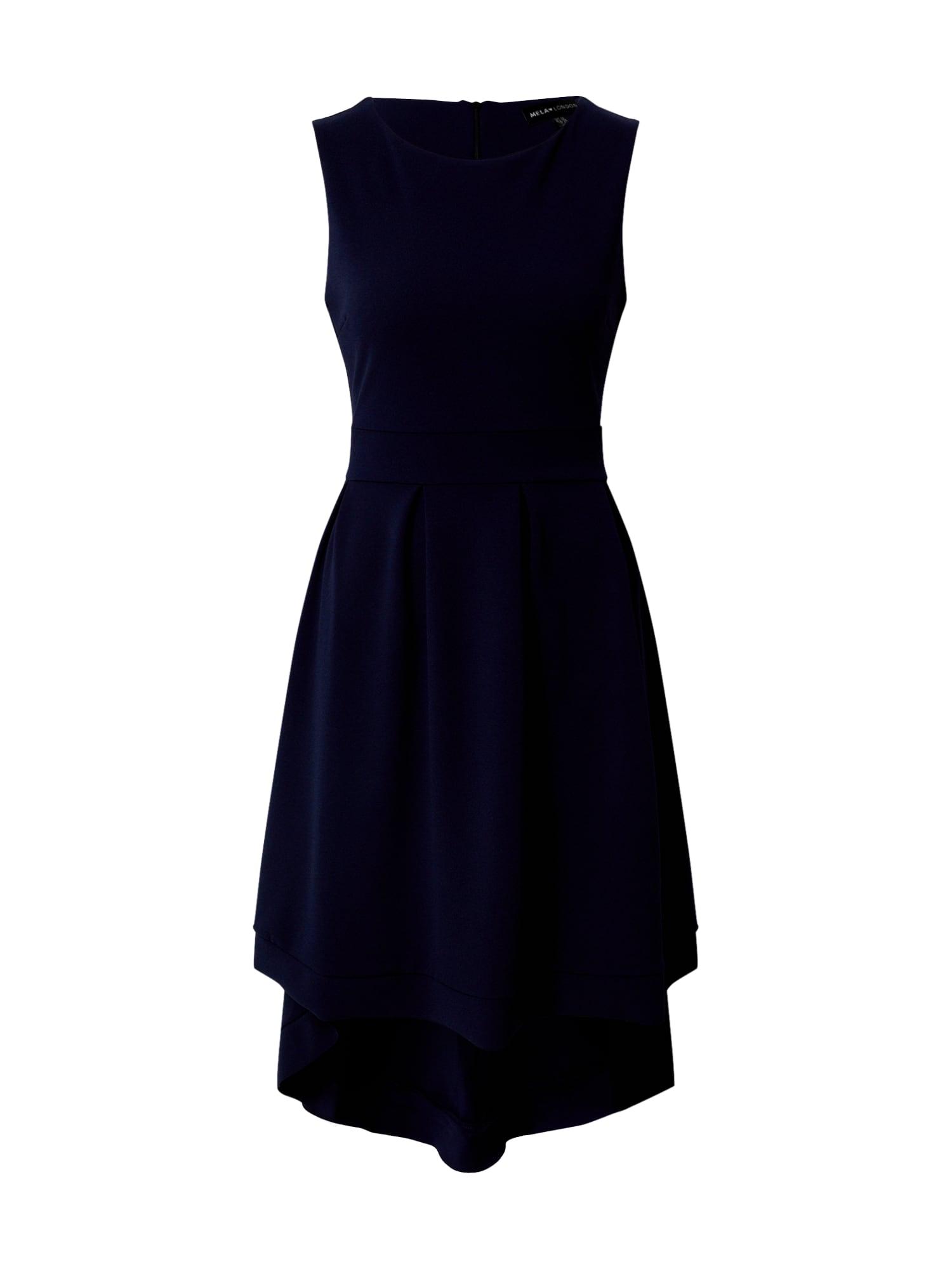 Mela London Suknelė tamsiai mėlyna
