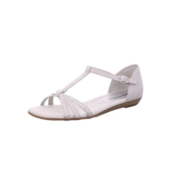Sandalen für Frauen - TAMARIS Sandale naturweiß  - Onlineshop ABOUT YOU