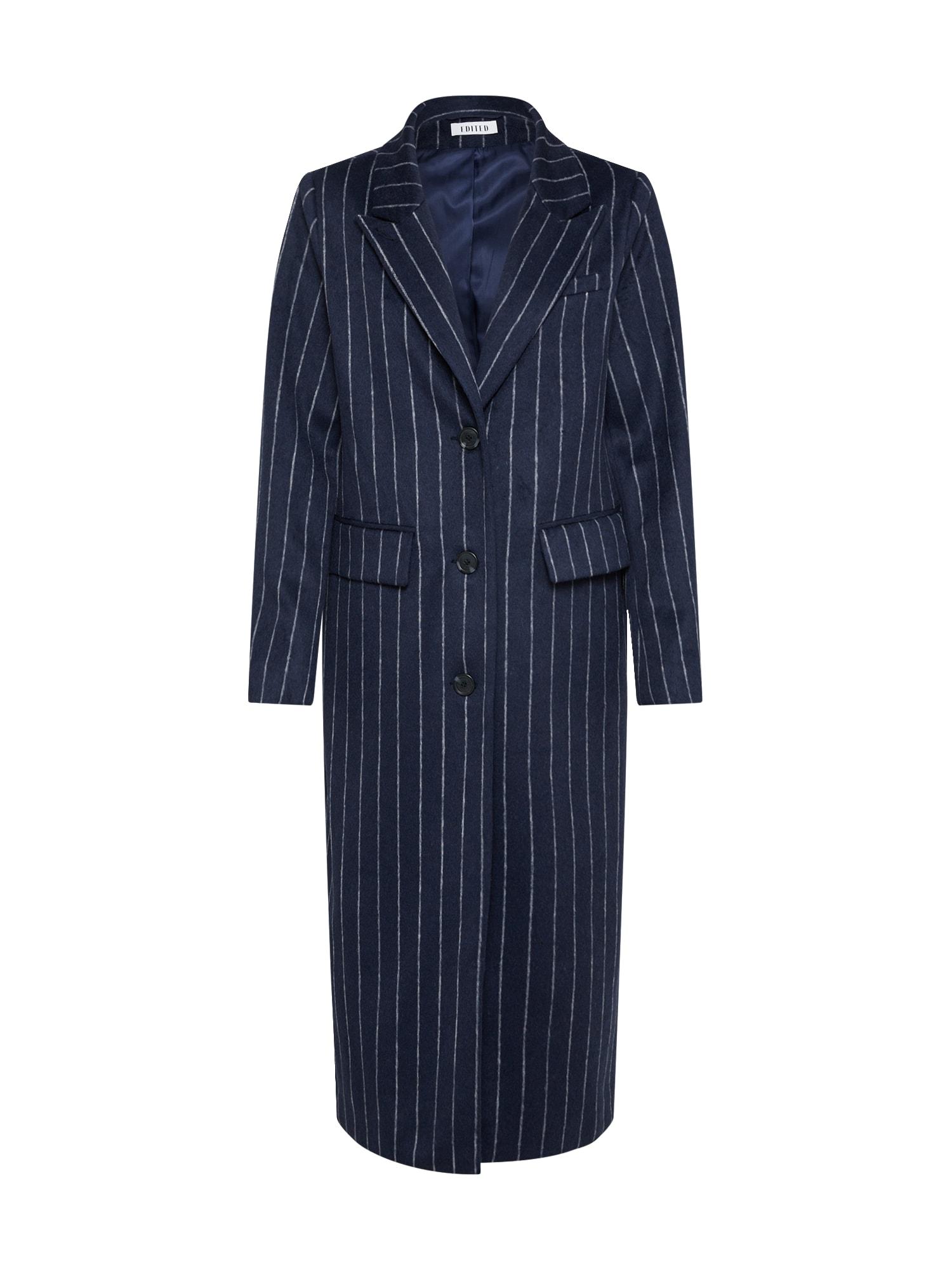 EDITED Žieminis paltas 'Danika' mėlyna / šviesiai mėlyna