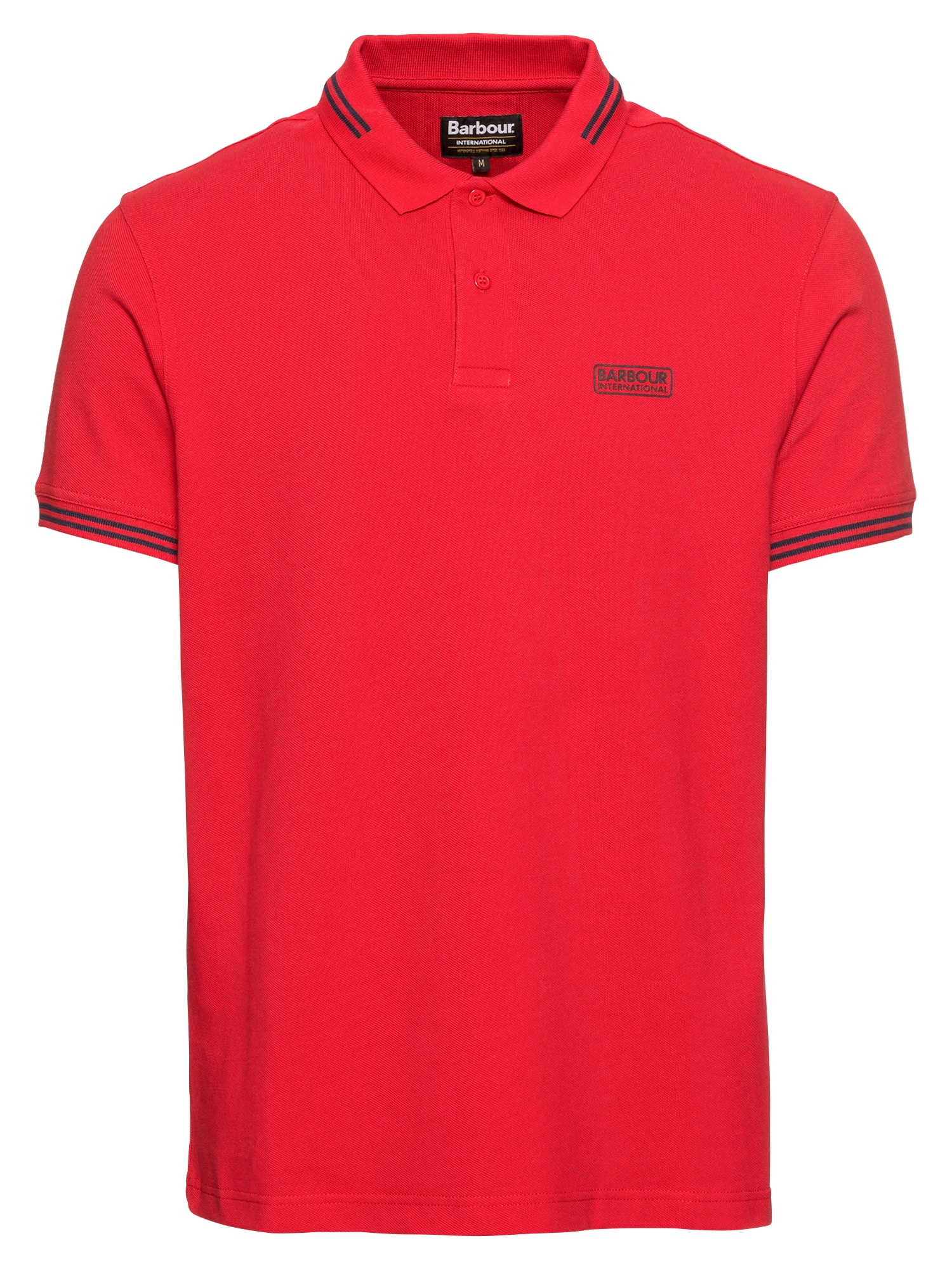 Tričko červená Barbour International