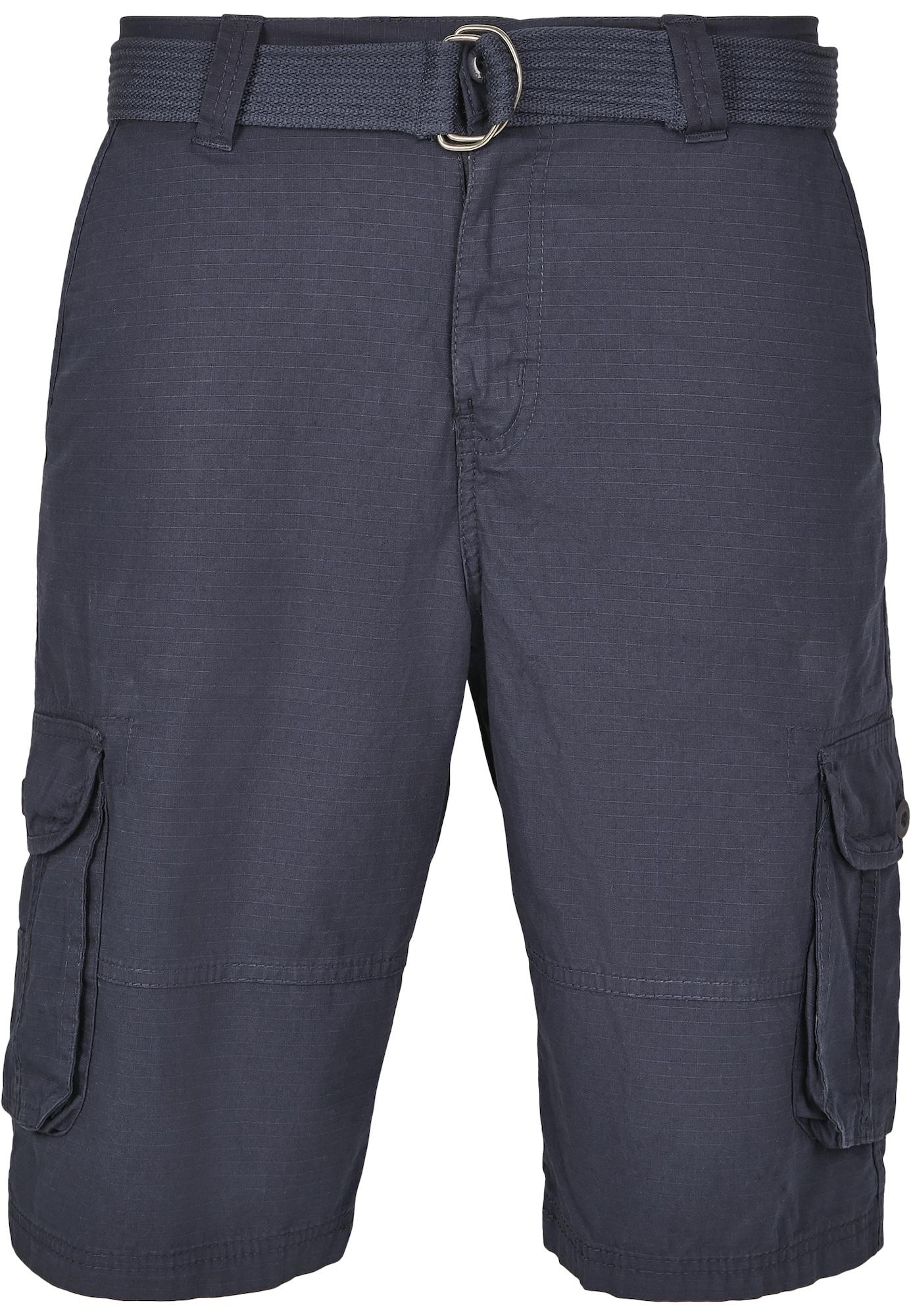 SOUTHPOLE Laisvo stiliaus kelnės tamsiai mėlyna